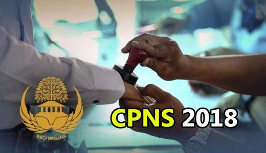 formasi jabatan cpns 2018