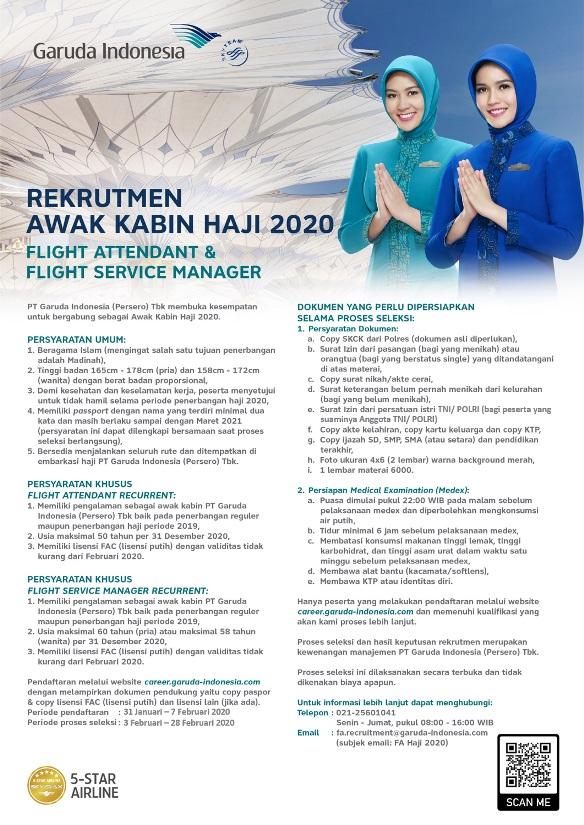 garuda indonesia karir