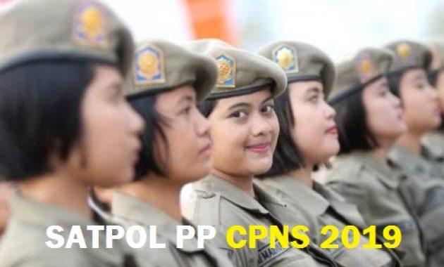Daftar Instansi Daerah Buka Formasi Polisi Pamong Praja CPNS 2019