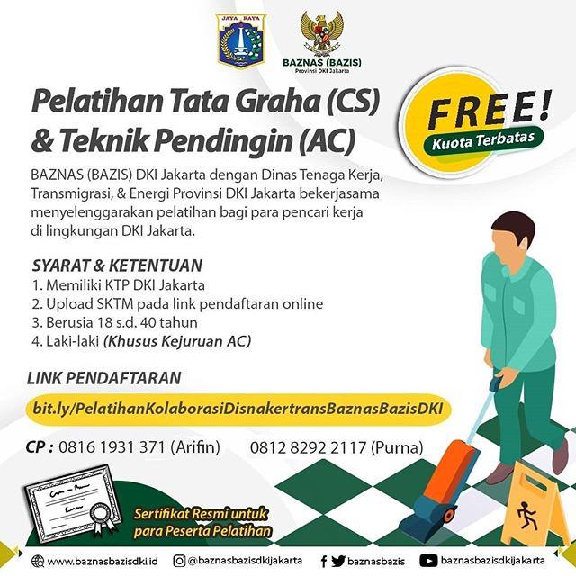 Pelatihan Tata Graha (CS) & Teknik Pendingin (AC)