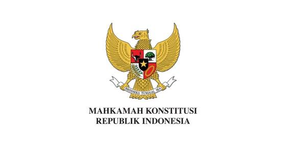 Penerimaan Pegawai Pemerintah Non Pegawai Negeri Mahkamah Konstitusi