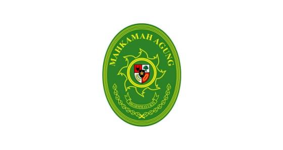 logo mahkamah agung datar