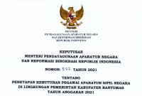 Lowongan CPNS & PPPK Tahun 2021 Pemerintah Kabupaten Banyumas Sebanyak 2.320 Formasi
