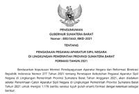 Resmi ! Pengumuman Pengadaan CPNS/PPPK Pemprov Sumatera Barat 2021 Untuk Lulusan SMA/SMK D3 dan S1