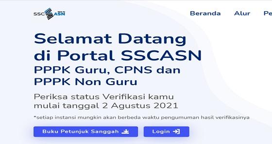 Cara Cek Hasil Seleksi Administrasi CPNS 2021, Jadwal Pengumuman 2-3 Agustus !